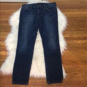 Joe's Straight Ankle Denim Blue Jeans